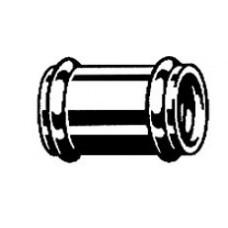Муфта канализационная с двумя уплотнительными прокладками арт (102 371)