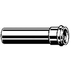 Патрубок однораструбный с уплотнением хром Viega арт (102 647)