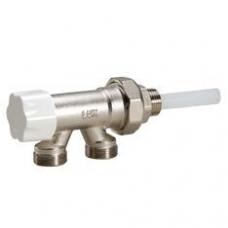 Блок для однотрубной системы с нижней подводкой и термостатической регулировкой Luxor арт (680 100 21)