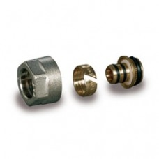 Компрессионный фитинг для труб из металлопластика Luxor арт (678 616 12)