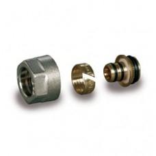 Компрессионный фитинг для труб из металлопластика Luxor арт (678 620 16)