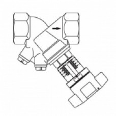 """Вентиль балансировочный """"Hydrocontrol VTR"""" Oventrop Ду 15 арт (106 01 04)"""