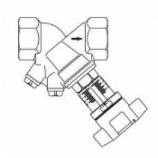 """Вентиль балансировочный """"Hydrocontrol VTR"""" Oventrop Ду 20 арт (106 01 06)"""