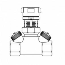 "Вентиль регулирующий ""Hycocon VTZ"" Oventrop Ду 32 арт (106 17 10)"