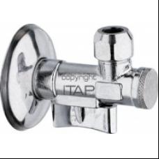 Кран шаровой для смесителя с фильтром и трубками ITAP арт (906 1/2)