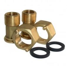Комплект разъемных соединений для счетчика тепла Maddalena арт (2805005А)