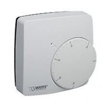 Термостат комнатный электронный WFHT-BASIC+ с переключателем комфортной/ночной температур норм.открытый Watts арт (100 210 97)