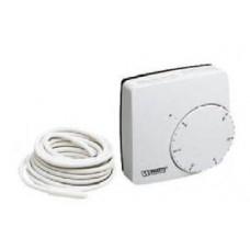 Термостат комнатный электронный WFHT-DUAL с датчиком температуры теплого пола(кабель датчика 3 м) Watts арт (100 211 01)