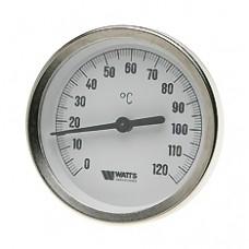 Термометр биметаллический F+R801 с погружной гильзой Watts арт (100 058 11)