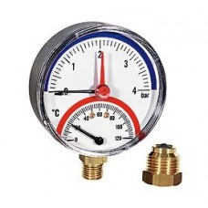 Термомонометр радиальный FR828 Watts арт (100 094 72)