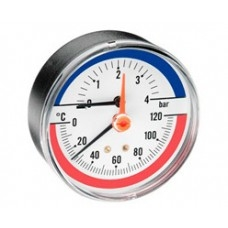 Термомонометр аксиальный FR818 Watts арт (100 094 64)