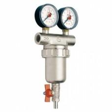 Фильтр промывной с 2 манометром ITAP арт (189 1 1/4)