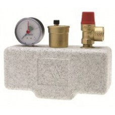 Группа безопасности котла KSG 30 ISO (сталь) с теплоизоляцией Watts арт (100 052 05)